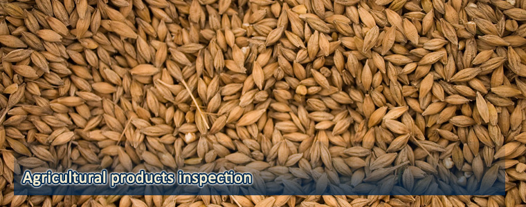 Agricultural products inspection